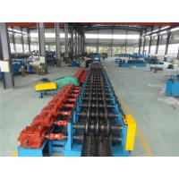 Buy cheap Three Waves Guardrail Roll Forming Machine with Conveyor Table Hydraulic Decoiler from wholesalers