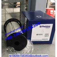 Buy cheap 3611274 3611272 Perkins/Caterpillar CAT 320D Fuel Filter engine parts from wholesalers