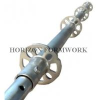 Buy cheap Q345 Steel Ringlock Scaffolding System For Contracting Work , HDG Finishing from wholesalers