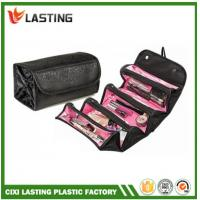 Buy cheap Travel Cosmetic  Makeup Bag Hanging Rolling Toiletry Organizer Black product