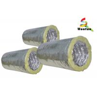 Buy cheap Fiberglass Insulated Flexible Ducting for Air Conditioning System Customized Sizes product