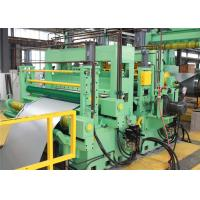 Buy cheap Hydraulic Steel Slitting Line ≥15mm Strip Width High Frequency  PLC Automatic Control from wholesalers