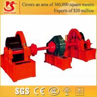 Buy cheap QPJ type stationary cable winch, cable gate hoist, electric winches from wholesalers