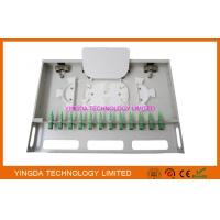 Buy cheap 12 Ports Fiber Optic Patch Panel Rack Mount Fiber Patch Panel ODF SC Couplers And Pigtails from wholesalers