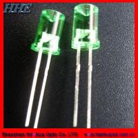 Buy cheap 8mm Concave Green LED Diode product