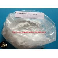 Buy cheap White Cutting Cycle Steroids Powder CAS 315-37-7 Testosterone Enanthate For Fast Muscle from wholesalers