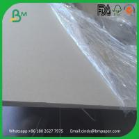 Buy cheap 500gsm 800gsm 1200gsm 1500gsm grey board double side grey chipboard from wholesalers