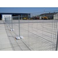 Buy cheap Australia Standard AS 4687-2007 Galvanized construction site temporary fencing from wholesalers