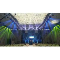 Buy cheap Portable Lighting Stage Truss System For Hotel Wedding Event with Luxury Beam Moving Lights and Par Lights from wholesalers