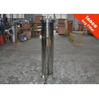 Buy cheap Low Pressure Pocket Single Bag Filter Carbon Steel Housing Dust Collector from wholesalers