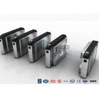 Buy cheap Waist High Turnstile Security Systems , Biological Recognition Flap Barrier Gate from wholesalers