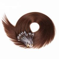 Buy cheap Dark Brown Clip In Hair Extensions 7A Grade For White Women , Remy Fusion Hair Extensions from wholesalers