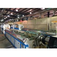 Buy cheap 22kw PP PE WPC PVC Window Plastic Profile Extrusion Line For Skirting Board from wholesalers