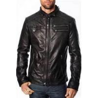 Buy cheap Customized XL XXL XLL XXXL winter Thick Cow hide Leather Jackets for men  product