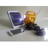 Buy cheap Convenient Outside Solar Lanterns , Bright LED Lantern For Cameras Charging from wholesalers