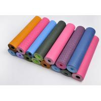 Buy cheap eco friendly yoga mat with one solid color from wholesalers