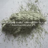 Buy cheap China manufacturer green silicon carbide GC powder F280F320F400F500F600F800F1000 from wholesalers
