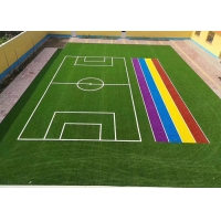 Buy cheap PP Straight Decorative 8500 Dtex Colored Artificial Turf product