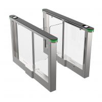 Buy cheap Office building access control turnstile , pedestrian barrier , flow control turnstile , SUS304 Polish No.4 product