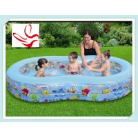 Buy cheap Large Cute Inflatable Swimming Pools 100 Gallons For 2 - 4 Children from wholesalers