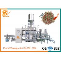 Buy cheap 2 Screw Fish Feed Extruder , Sinking Floating Fish Feed Machine BV Certification from wholesalers