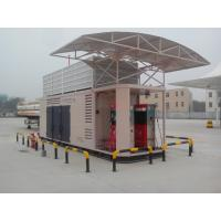 Buy cheap full - Integrated 2 Stage Natural Gas Compressor CNG Fuel Stations 350V / 50Hz from wholesalers