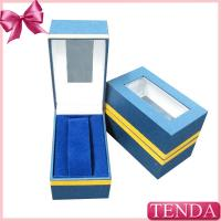 Buy cheap Cheaper Cost Ladies Students Kids Children Gilrls Boys Metal Collar Wrist Watch Box with PVC Window from wholesalers