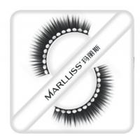 Buy cheap Black Rhinestone Ddiamond False Eyelashes For Party , Fluttering Eyelashes from wholesalers