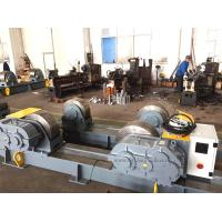 Buy cheap 200 Ton Bolt Adjustment Tank Turning Rolls With Metal Roller / HGK Pipe Rollers For Welding from wholesalers
