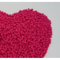Buy cheap IP Injection Fluorescence Pink Color Polymer Masterbatch With 10%-50% Pigment Content product