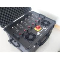 Buy cheap UHF VHF jammer | 6 Bands 300W High Power Waterproof and Shockproof Walkie talkie Jammer product