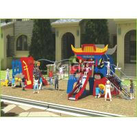 Buy cheap Kids popular Chinese opera interesting play slide and climbing outdoor playground from wholesalers