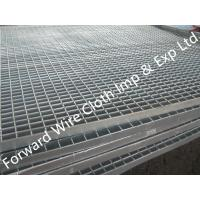 Buy cheap Hot Dipped Galvanized Bar Grating Carbon Steel / Stainless Steel 1000 * 2000 mm from wholesalers