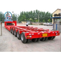 Buy cheap 3 Line 6 Axles Fuwa Axles Low Bed 100T Semi Trailer Trucks For Equipment Transportation from wholesalers