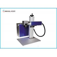 Buy cheap Mini Metal Jewelry Fiber Laser Marking Machine With Computer from wholesalers