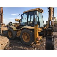 Buy cheap JCB 4CX 4WD Used Backhoe Loader , Compact Backhoe Loader No Oil Leakage from wholesalers