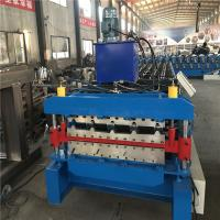 Buy cheap Carbon Steel / Corrugated Iron Metal Roofing Sheet Roll Forming Machine from wholesalers