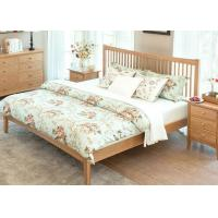 Buy cheap King Size Natural Wood Bedroom Set , Economic Cherry Wood Bedroom Furniture from wholesalers