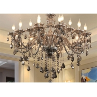 Buy cheap Multiple Light Source Adjustable Height 0.3m Vintage Candle Chandelier from wholesalers