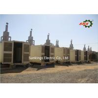 Buy cheap 230V/400V AC 3 Phase Diesel Generator / Construction Container Diesel Genset 800KW/1000KVA from wholesalers