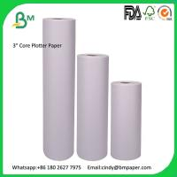 Buy cheap BMPAPER 60gsm 70gsm 80gsm 90gsm 100gsm 120gsm 150gsm Plotter Paper Roll from wholesalers