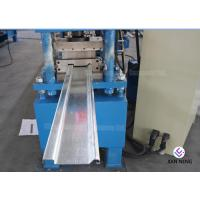 Buy cheap Galvanized Type C / Z Purlin Roll Forming Machine With Hydraulic Cutting System from wholesalers