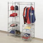 Buy cheap Mall Clothing Display Racks /Metal Garment Storage Shelves from wholesalers