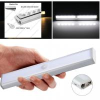 Buy cheap 10 Pcs Smd2835 1.8w Motion Sensor Led Tube Cupboard Led Lights With 4*Aaa Battery from wholesalers