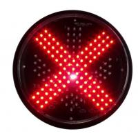 Buy cheap 300mm IP55 Red Cross And Green Arrow Traffic Signal Light Modules from wholesalers