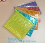 Buy cheap Plastic Slider Zipper Bubble Mailers Padded Envelopes Bag, Plastic Bubble Zipper Bag, Plastic Slider Zipper Bubble Maile from wholesalers