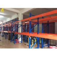 Buy cheap Pipe Storage Warehouse Pallet Racking With Upright Guard / Bolts Custom Color from wholesalers