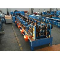 Buy cheap Automatic CZ Purlin Steel Purlin Roll Forming Machine With CW Flange Punching product