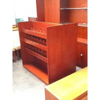 Buy cheap Heat Resistant Furniture Display Cabinet Wine Rack Wood Board For Storage from wholesalers