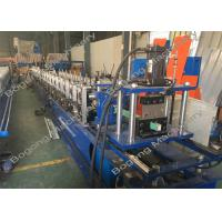 Buy cheap Guide Rails Shutter Door Roll Forming Machine For Light Steel Construction from wholesalers